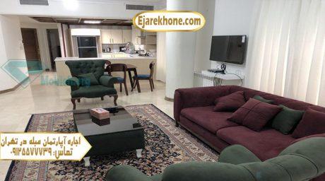 آپارتمان مبله در تهران ولنجک
