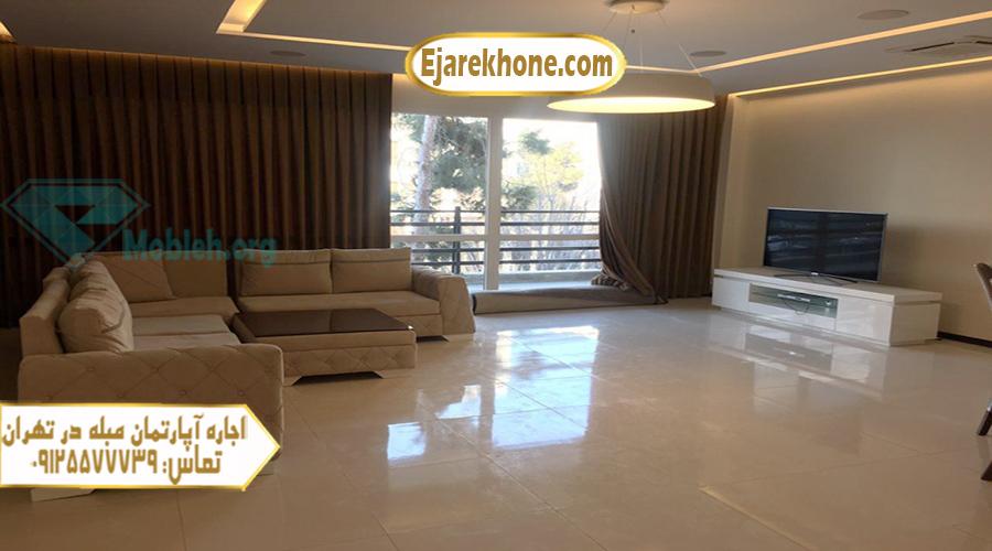 آپارتمان مبله در تهران شیخ بهایی
