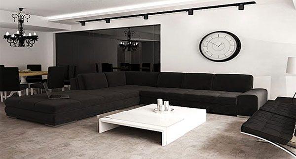 دکوراسیون سیاه - کاریزمای رنگ سیاه در دکوراسیون منازل لوکس