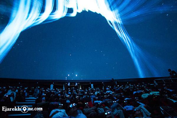 سینما سه بعدی گنبد مینا