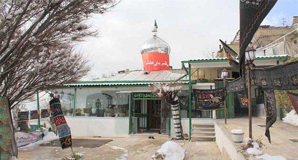 آدرس امامزاده مطیب در اوین
