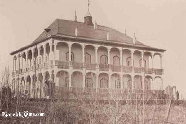 کاخ سرخه حصار - عمارت قصر یاقوت