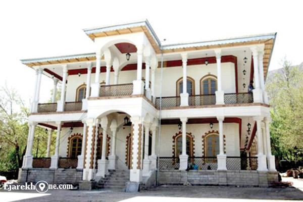 عمارت قصر یاقوت - کاخ سرخه حصار