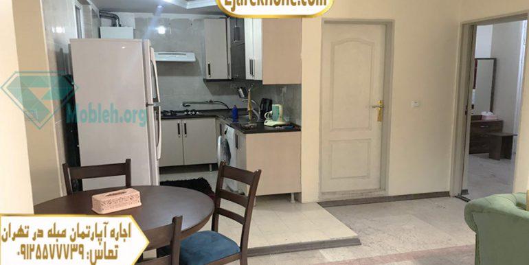 آپارتمان مبله روزانه در صادقیه تهران | اجاره خونه