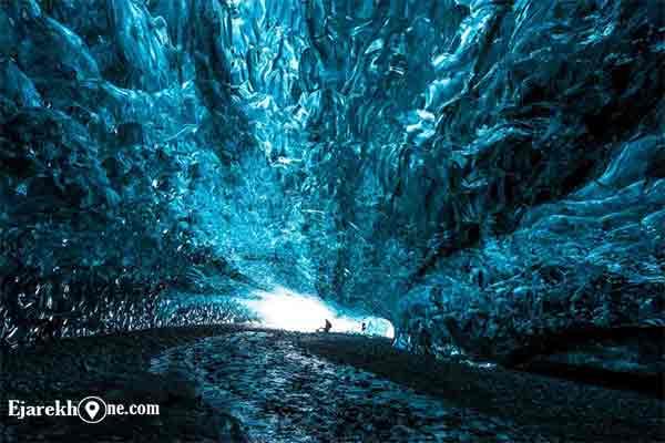 غار یخی در ایسلند | اجاره خونه:آپارتمان مبله روزانه