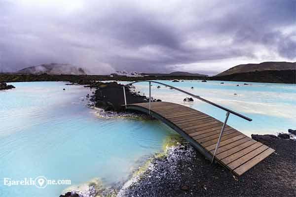 چشمه آبگرم Blue Lagoon ایسلند