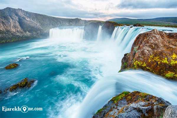 آبشار خدایان ایسلند |اجاره خونه روزانه