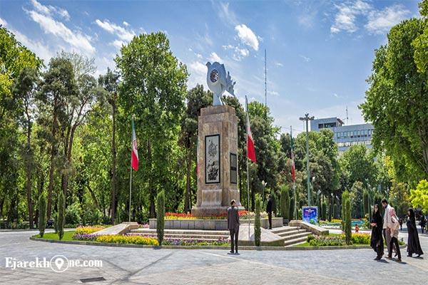 پارک شهر کجاست - اجاره روزانه سوئیت ارزان در تهران