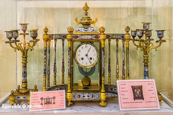 ساعت های موزه زمان تهران