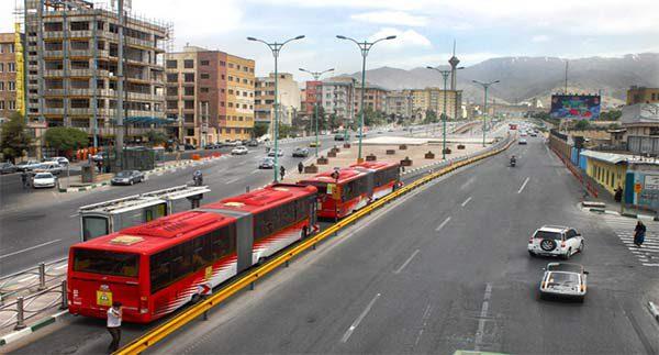 دانلود جدیدترین نقشه BRT تهران- معرفی خطوط بی آر تی و ایستگاه ها