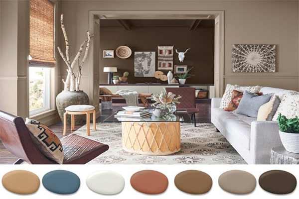 هماهنگی رنگ ها در دکوراسیون داخلی |ejarekhone