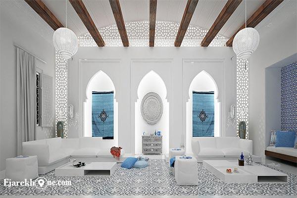 دکوراسیون سبک مراکشی:اجاره خونه
