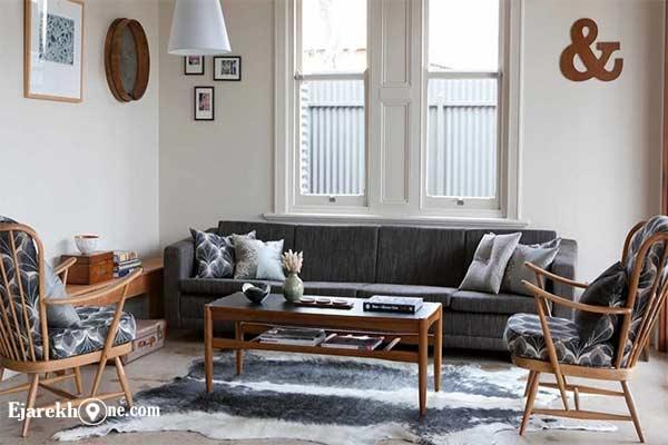 اجاره خونه:دکوراسیون سبک رترو