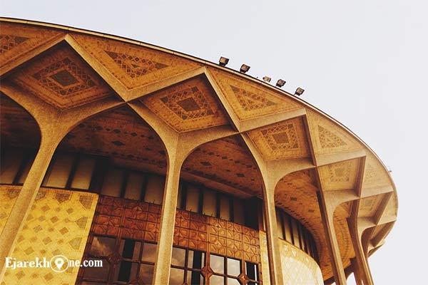 ساختمان تئاتر شهر تهران:اجاره خونه