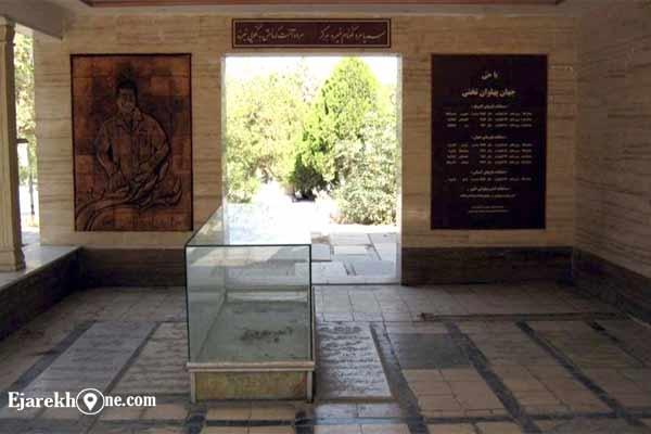 آرامگاه تختی در قبرستان ابن بابویه|اجاره خونه