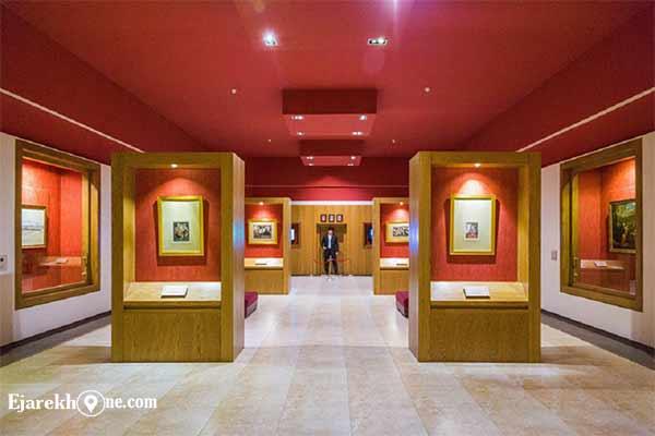 موزه ملک تهران:اجاره خونه
