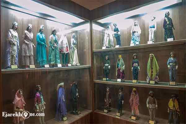 عروسکهای خانه موزه استاد صبا |اجاره خونه