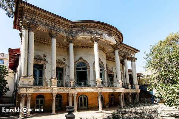 خانه مستوفی الممالک|اجاره خونه