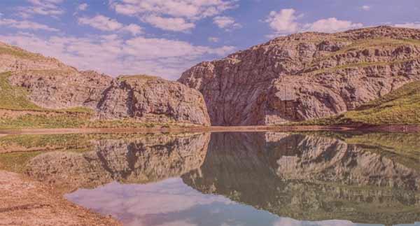 روستای لزور و دریاچه لزور کجاست|اجاره خونه