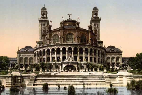 عمارت کلاه فرنگی فرح آباد(قصر فیروه)