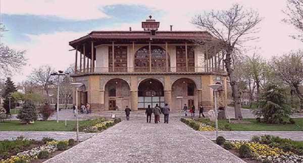 عمارت کلاه فرنگی-کاخ عشرت آباد|اجاره خونه