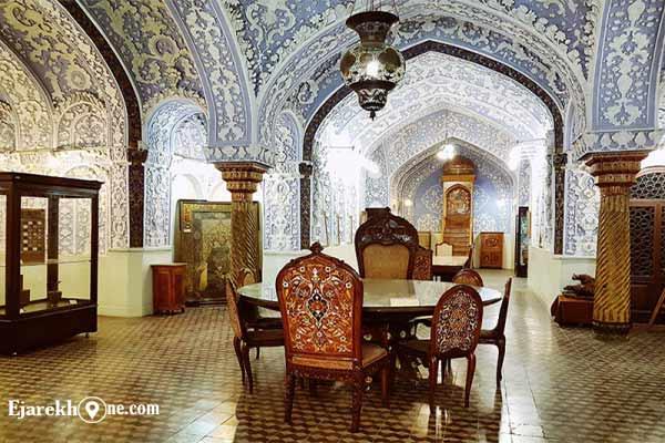 موزه هنرهای ملی ایران-حوضخانه نگارستان|اجاره خونه