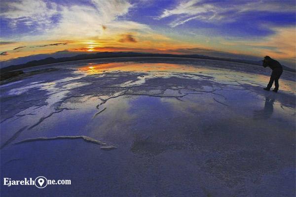 دریاچه حوض سلطان-دریاچه نمک قم|اجاره خونه